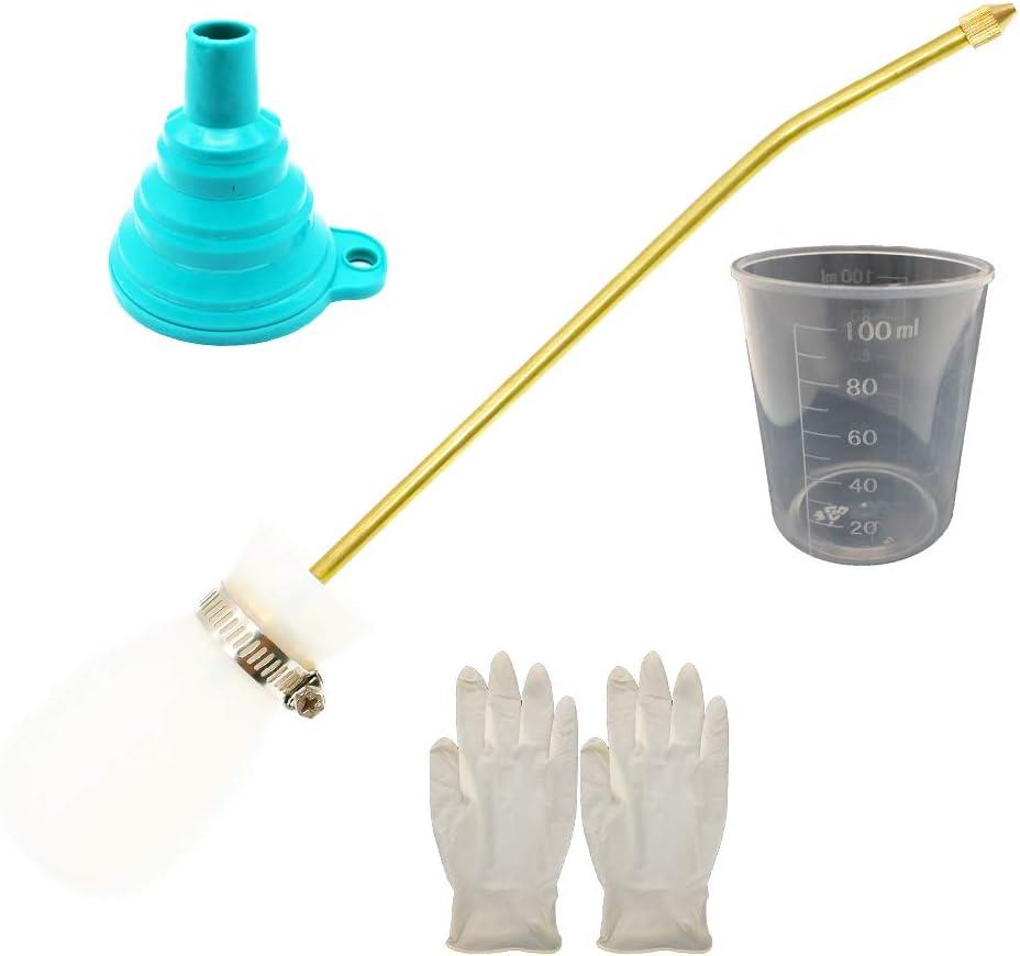 BITEYI Dispensador Aplicador de Insecticida en Polvo Antiinsectos Alimañas,Bombilla Tierra de Diatomeas Plumero Pulverizador (Blanco)
