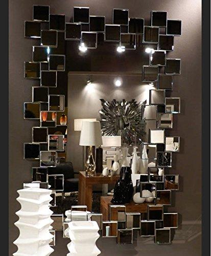 Espejos Modernos Cristal Alpino Rectangular 120x86 Amazones Hogar