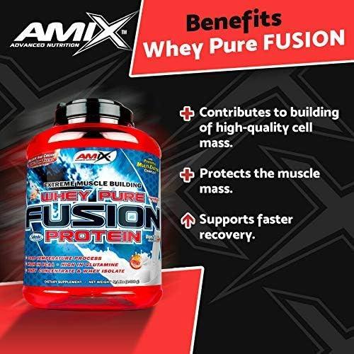 Amix Amix Whey Pure Fusion Unidosis Proteínas - 30 gr: Amazon ...
