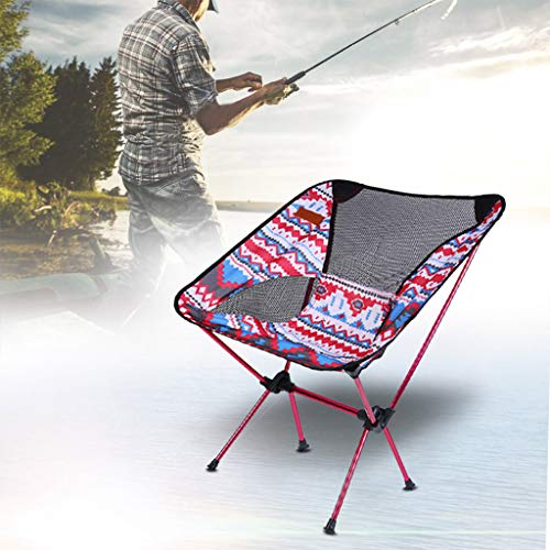 Flurries  Folding Camping Backpack Chair