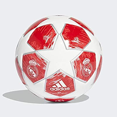 adidas Finale18rm Min Ball, Hombre, White/Silver Met./Real Coral ...