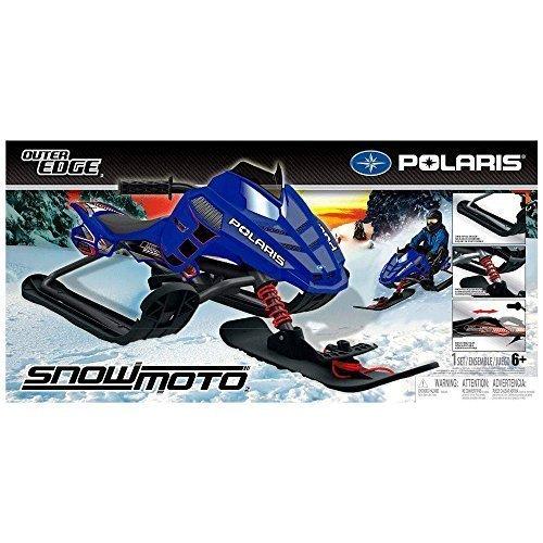 Polaris Outer Edge SnowMoto Snow Sled Snow Moto, Blue ()