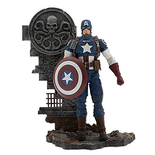 Marvel Captain America Action Figure - Marvel Select - 7 Inch