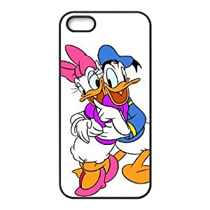 Donald Duck iPhone5s Cell Phone Case Black yyfabc-627560