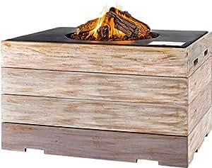 Happy Cocooning Nice & Nasty Fuego mesa Angolo grande usato, color: negro