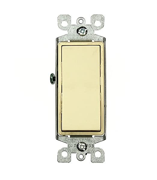 51qbfF5HPwL._SX522_ leviton 5603 2t 15 amp, 120 277 volt, decora rocker 3 way ac quiet leviton decora 3 way switch wiring diagram 5603 at gsmx.co
