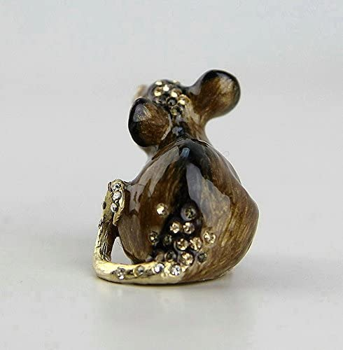 Jay Strongwater Mini Mouse Figurine