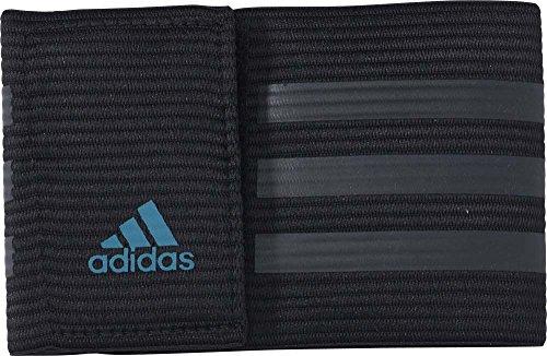 adidas Herren Captain Armbinde, Black/Dark Grey/Equity Green, OSFM