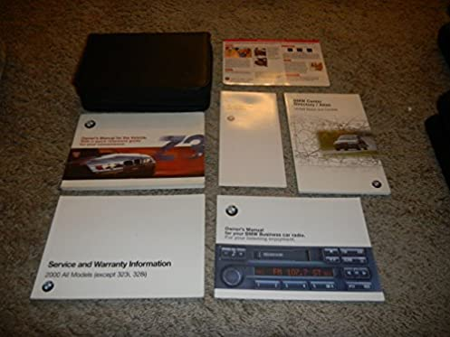 2000 bmw z3 roadster m coupe owners manual bmw amazon com books rh amazon com Photos 2000 BMW Z3 Roadster Silver 2000 Z3 M