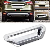 Daphot-Store - Car Styling Chrome Rear Boot Door Tailgate Handle Bowl Cover Trim Fit for Ford Kuga Escape 2013 2014 2015 +
