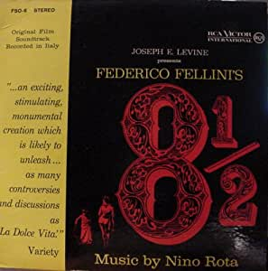 Federico Fellini's 8 1/2: Original Motion Picture Soundtrack [Import]