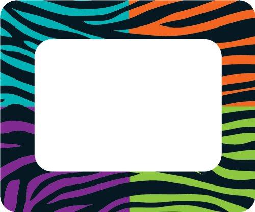 Carson Dellosa Wild Style Name Tags (150033)