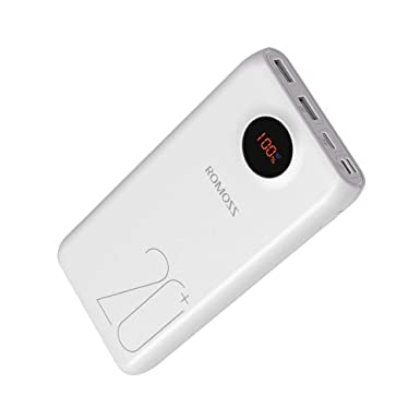 ROMOSS 20000mAh Tipo C PD Cargador Portátil USB C Power Bank ...