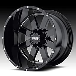 Moto Metal MO962 17x10 Black Wheel / Rim 8x6.5 with a -24mm Offset and a 125.50 Hub Bore. Partnumber MO96271080324N