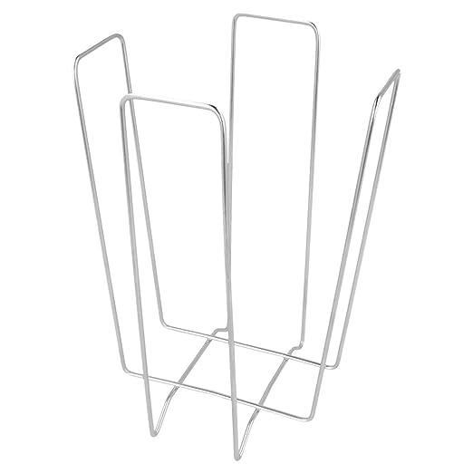 Plateado Alambre Garc/ía de Pou Servilletero 11 x 11 x 18 cm