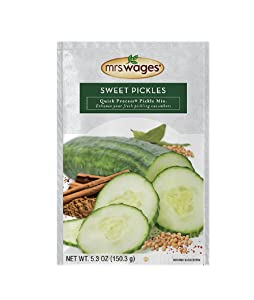 Mrs Wages Sweet Pickles Quick Process Mix (VALUE PACK of 6)
