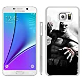 img - for Batman Arkham City Character Blood Fist City Houses Black And White Batman White Samsung Galaxy Note 5 Phone Case,Fashion Skin book / textbook / text book
