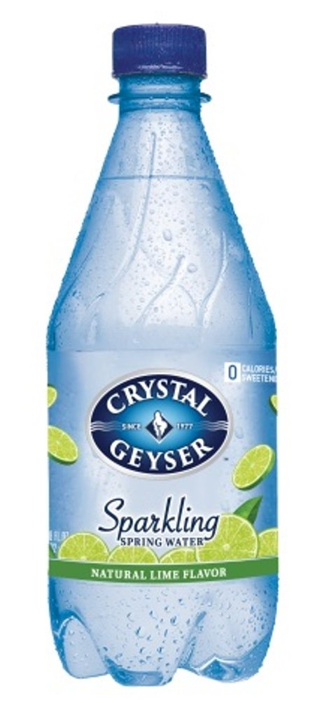 Crystal Geyser sparkling lime 532mlX24 this [parallel import goods]