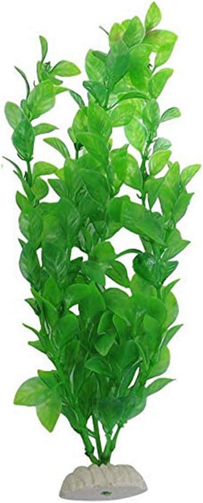 Laileya Vert artificiels Plantes Algues Vivid Eau Poissons en Plastique r/éservoir Usine de Plastique deau D/écorations pour Plantes daquarium