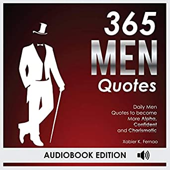 Amazoncom 365 Men Quotes Daily Men Quotes To Become More Alpha
