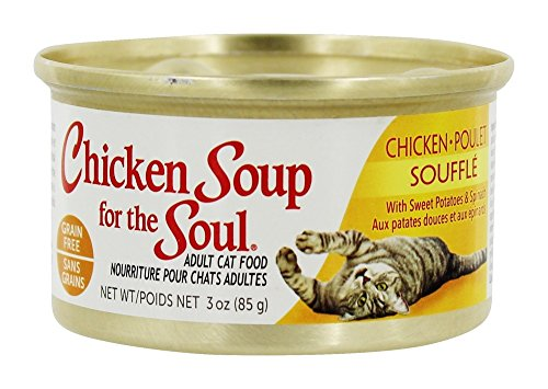 Chicken Soup for the Soul - Canned Cat Food Chicken Souffle - 3 oz.