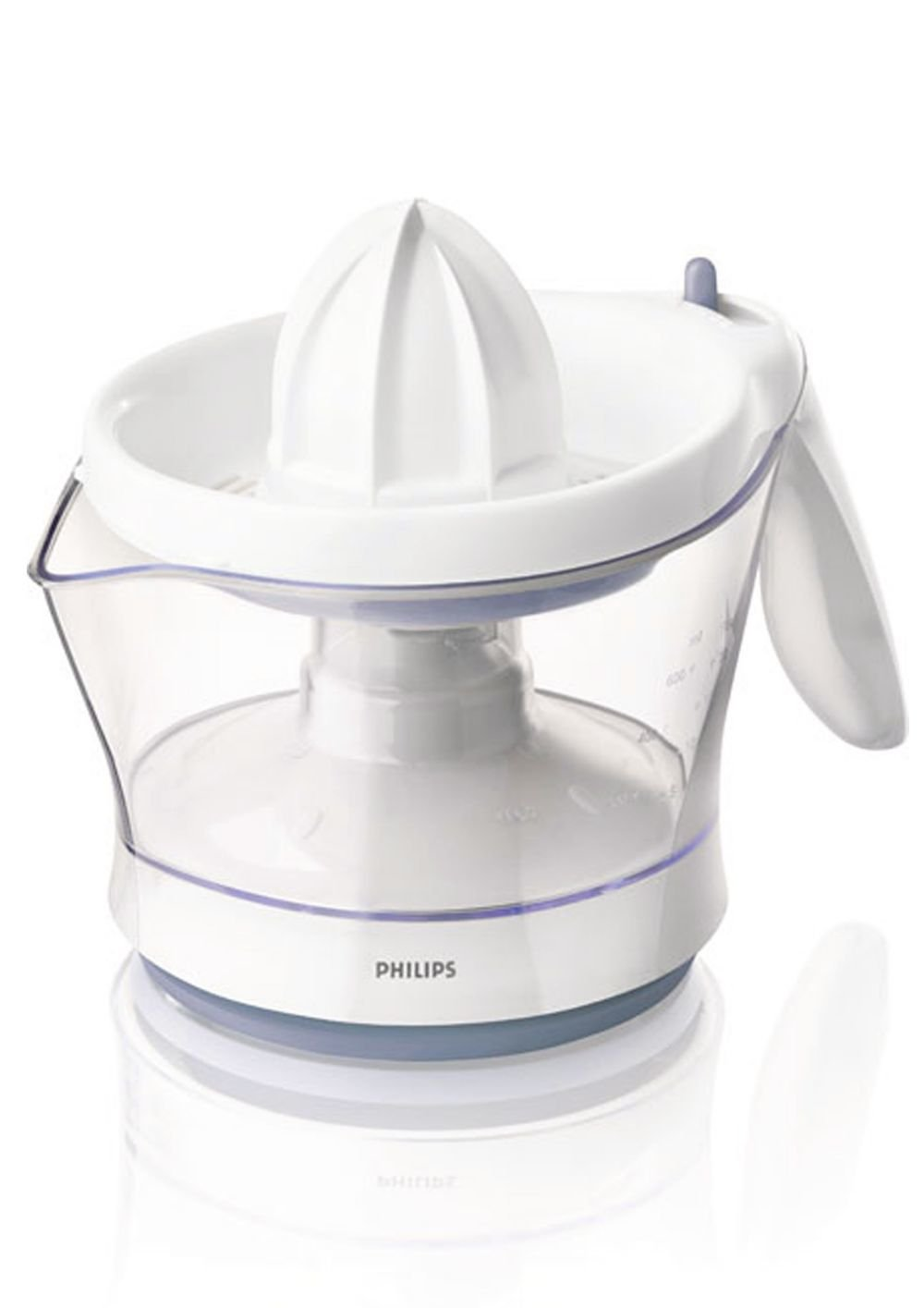 Philips HR2744/41 Viva Collection Citrus Press, 0.6 Litre, 25 Watt - White