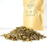 Beantown Tea & Spices – Sleep Well Herbal Tea. 100% Natural Loose Leaf Bedtime Herbal Blend 2 Ounces (25 Servings) For Sale