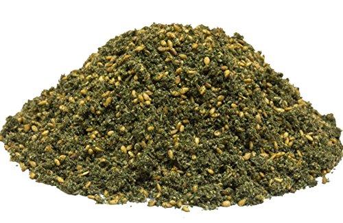 Zatar Spice Blend Za atar spice, Zaatar Za'atar spice, Authentic spice blend and seasoning, Tawabil Garden 8oz 0.5lb 226g زعتر ()