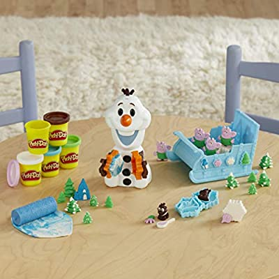 Play-Doh PD Olaf Snowball Maker: Toys & Games