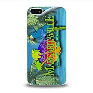 iPhone 5 5S case protective skin cover with Jimmy Buffett Margaritaville design