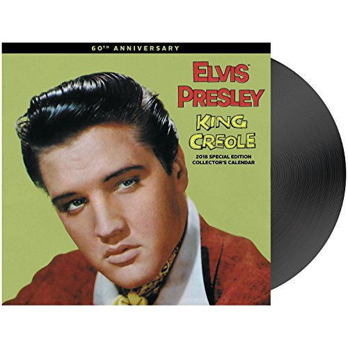 2018 Special Edition Elvis Presley Calendar (Day Dream) - Elvis Presley Album Covers