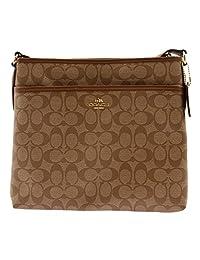 Coach Signature File Crossbody Bag 34938