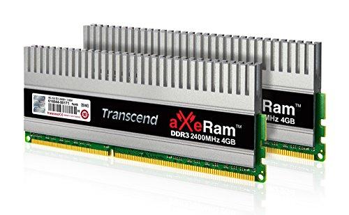 Transcend 8GB KIT aXeRam DDR3 2400+ U-DIMM (TX2400KLN-8GK)