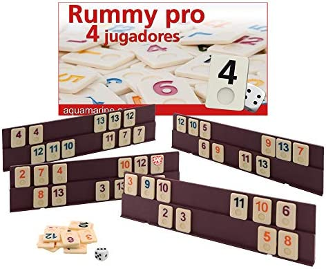 Aquamarine Games - Rummy (Compudid DO005): Amazon.es: Juguetes y ...