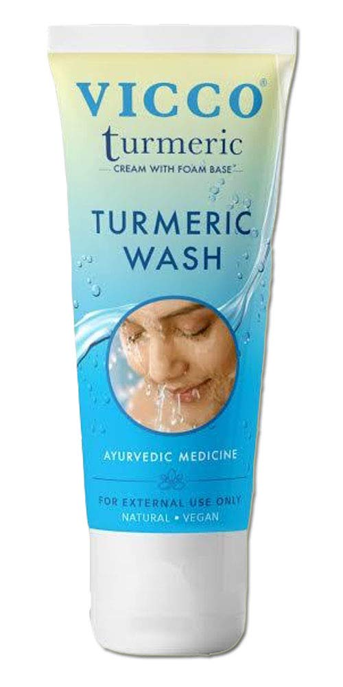 Vicco Turmeric Face Wash-70g(Pack of 3)