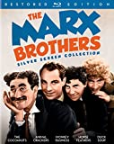 The Marx Brothers Silver Screen Collection (The Cocoanuts / Animal Crackers / Monkey Business / Horse Feathers / Duck Soup) - Restored Edition [Blu-ray]