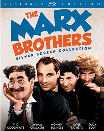Blu-ray : The Marx Brothers Silver Screen Collection (Restored Edition) (Restored, 3 Pack, Digibook Packaging, 3 Disc)