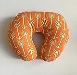 Nursing Pillow Cover - Orange Arrows
