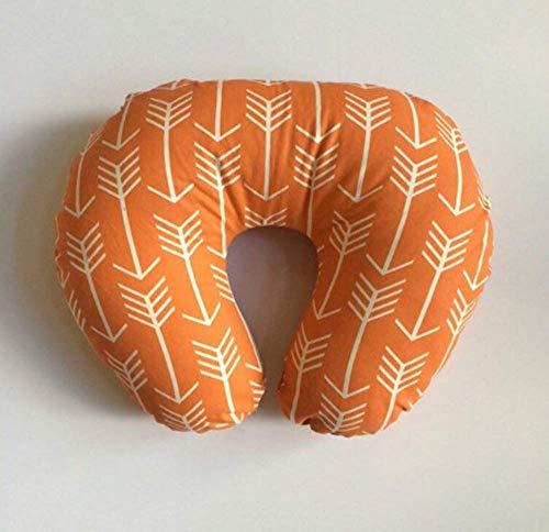 Nursing Pillow Cover - Orange Arrows by Lullabies and Lollipops