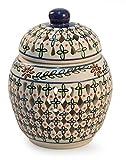 NOVICA Decorative Floral Ceramic Jar, Multicolor, 'Eternal Spring'