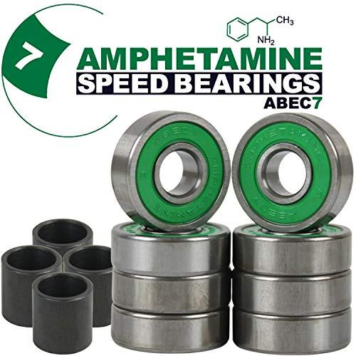Amphetamine Abec 7 Skateboard Bearings