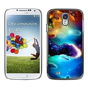 SHIMIN CAO- Dise?o Caso duro de la cubierta Shell protector FOR Samsung Galaxy S4 i9500 i9508 i959- Space Night Nebula