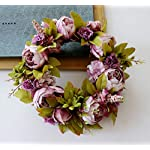 SHIXIN-Family-Peony-Wreath-Artificial-Peony-Wreath-Family-Decoration-Flower-European-Church-Knot-Wedding-Wall-Decoration-Ornaments-Suitable-for-Indoor-Outdoor-Door-Window