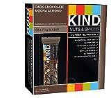 KIND Bars qgHVJDM, Dark Chocolate Mocha Almond, 12 Count