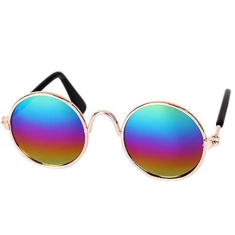 LYH&PXT Gafas de Sol de Moda para Perros y Gatos Gafas de ...