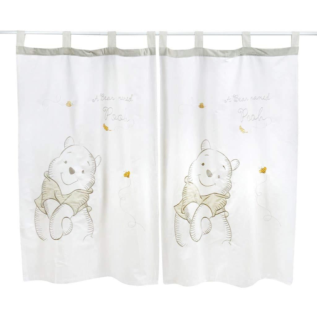 Blancho Bedding Disney Gray Winnie The Pooh - Curtain
