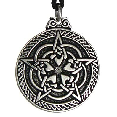 Amazon celtic knot pentacle for protection wiccan necklace celtic knot pentacle for protection wiccan necklace jewelry pagan irish pendant aloadofball Choice Image