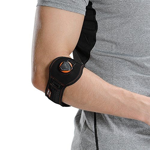 Tunnel Cubital Pain - Tennis Golfers Elbow Brace Forearm Support Band Sports Strap Relieve Cubital Tunnel Tendinitis Pain with Adjustable BOA Dial and Cushioned Pad for Women Men, S