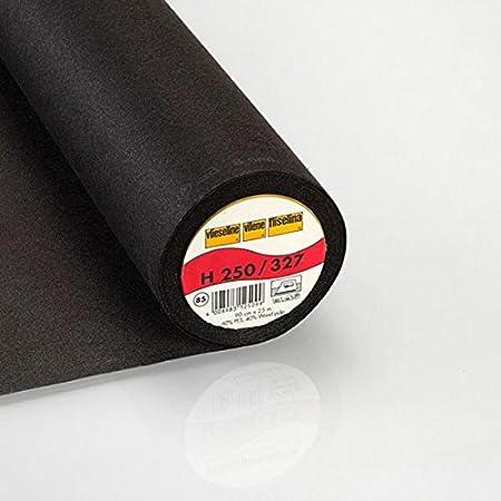 2 /— Vendita al Metro da 0,5m /— per Cucire Abbigliamento Fliselina Fabulous Fabrics H 250 Interfodera termoadesiva