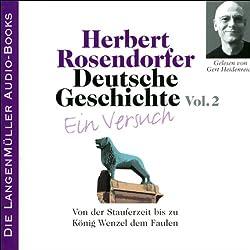 Deutsche Geschichte - Ein Versuch (Vol. 2)